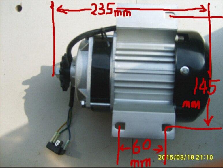 Générateur sans brosse triphasé à courant alternatif de générateur d'aimant Permanent à basse vitesse de 24 V/RPS 500 W