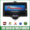 7 inch truck bluetooth GPS Navigation mtk ce6.0 800Mhz 256M 8GB vehicle navigator with rear view lesswire camera
