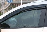 Acrílico estilo Mugen ventilación de ventana visera/lluvia Sun guardia para 2013 16 Mazda CX5 CX 5|window vent visors|rain window guards|mugen rain guards -