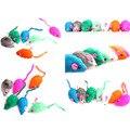 Мода Новый Прекрасный Яркий Цветной Немного Смешно Милый Мыши Игрушки Для Домашних Животных