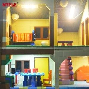 Image 5 - MTELE led ışık kiti 71006 Simpson evi ışık seti ile uyumlu 16005 (dahil değil Model)