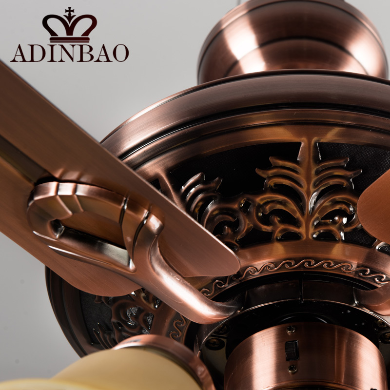 High quality ceiling fan light wih red antique copper color xj041 in high quality ceiling fan light wih red antique copper color xj041 in ceiling fans from lights lighting on aliexpress alibaba group aloadofball Gallery