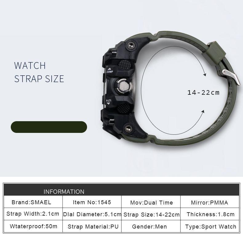 HTB18.AlSXXXXXcjXpXXq6xXFXXXO - SMAEL MUDMASTER 2017 Fasion Sport watch for Men