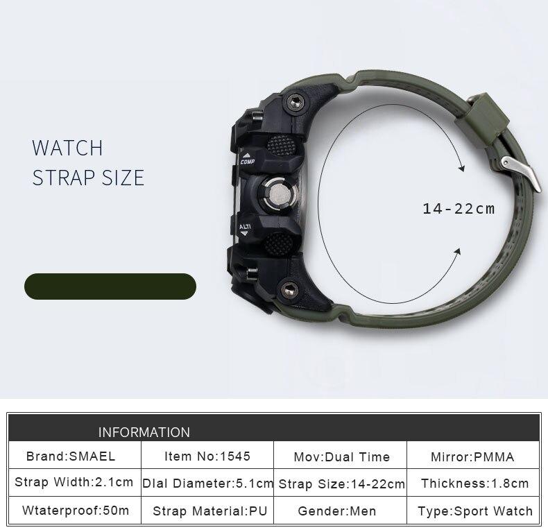 prova dwaterproof água casual s-shock masculino relógios