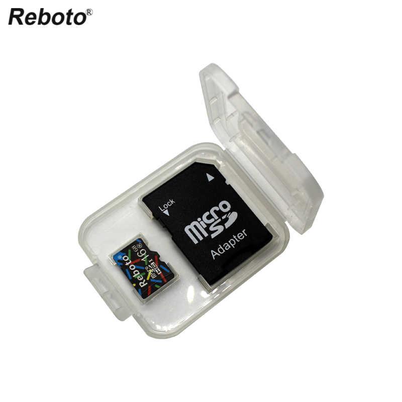 Реальная емкость флэш-карты памяти 4 ГБ 8 ГБ 16 ГБ Горячая продажа 64 Гб micro sd карты 32 Гб класс 10 флеш-карта памяти TF микро sd карта Бесплатный адаптер