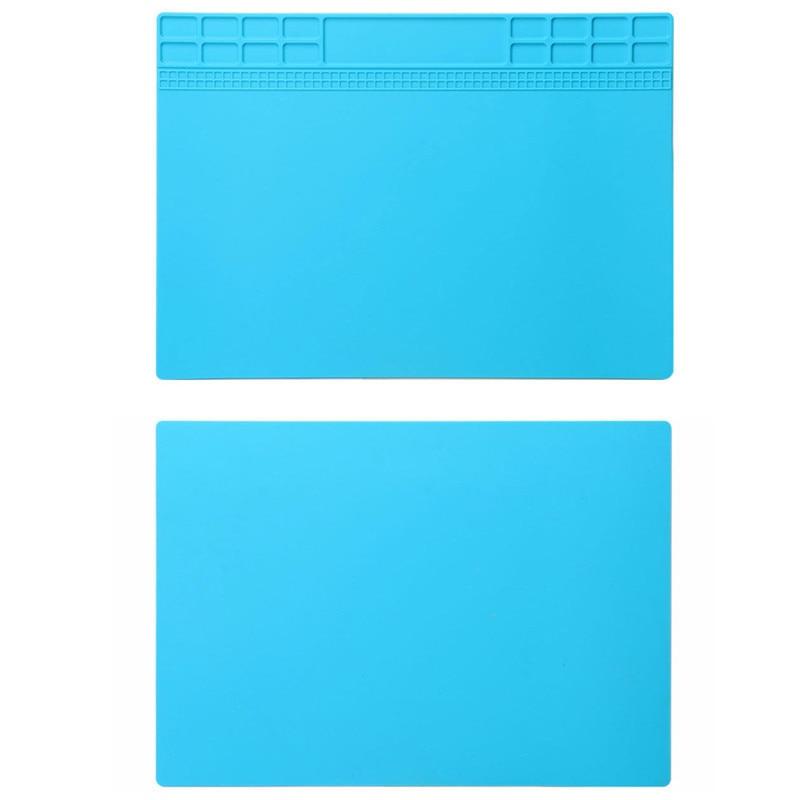 Šviesiai mėlynos spalvos šilumą izoliuojančio silikono padėklo - Įrankių komplektai - Nuotrauka 5