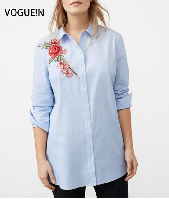 ... Derek Lam 10 Crosby Long Sleeve Button-Down Shirt With Eyelet Embroidery