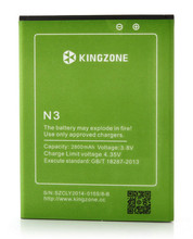 Original 2800mAh Battery Batterie Batterij Bateria For Kingzone N3 MTK6582+ 6590 4G FDD LTE 5.0″ 1280×720