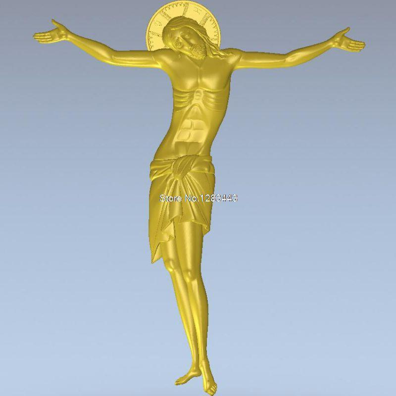 High Quality 3d Model Relief  For Cnc Or 3D Printers In STL File Jesus_11