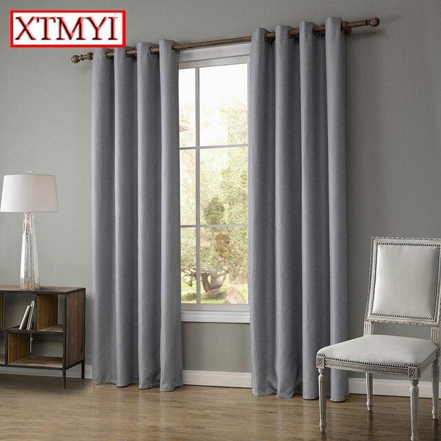 moderne bettwäsche blackout vorhänge für schlafzimmer braun/beige ... - Moderne Vorhange Fur Wohnzimmer