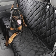 Puppy Pet Dog Car Rear Bench Back Seat Cover Mat Hammock Style and Back Cover of Cars SUV for Pet Products Dog Beds Accessories