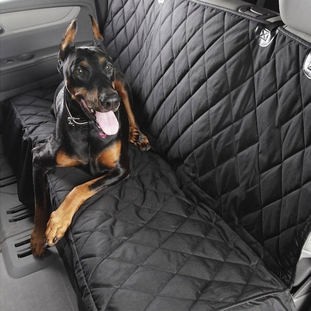 puppy pet dog car rear bench back seat cover mat hammock style and back cover of puppy pet dog car rear bench back seat cover mat hammock style and      rh   aliexpress