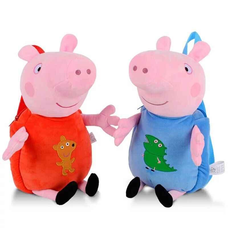 Peppa Pig маленькая девочка Джордж 8 хорошие друзья Susie Danny/мама и папа плюшевая игрушка школьный детский день рождения Рождественский подарок