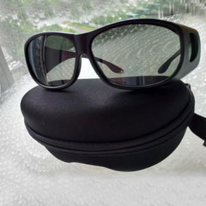Co2 laser safety goggles with O.D 4 CE certified  hard case and cloth