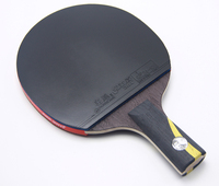 1 Pcs Top Quality Black Blade Brand DOUBLE HAPPINESS Table Tennis Bat Professional Ping Pong Racket