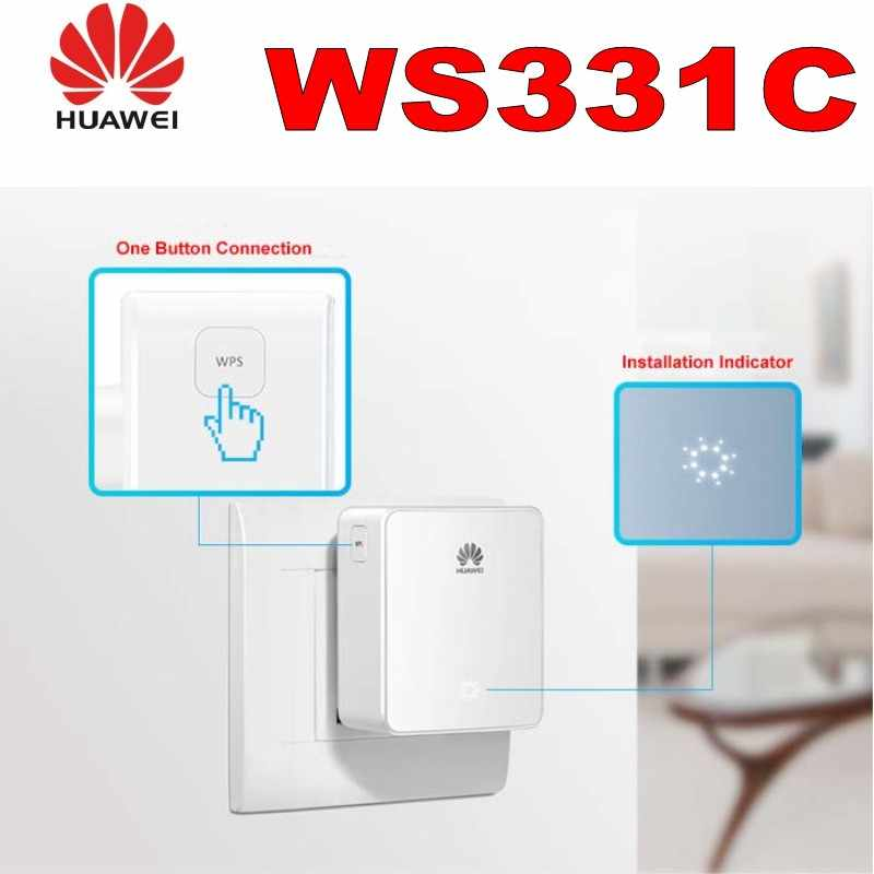 Wifi Repeater Huawei WS331C 300M Wireless Wifi Expander 2 4GHz 802 11n/b/g  Range WIFI Router