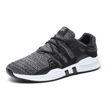 BALADB Flying sneakers shoes Man running breathable mesh shoes wild casual Soft bottom Non-slip Men's and Women shoes Size 36-46