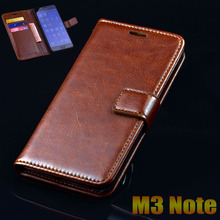 Meizu M3 Note Case Cover Luxury Leather Flip Phone Bags For Meizu M3 Note Ultra Thin Business Wallet Phone Bags Case Cover