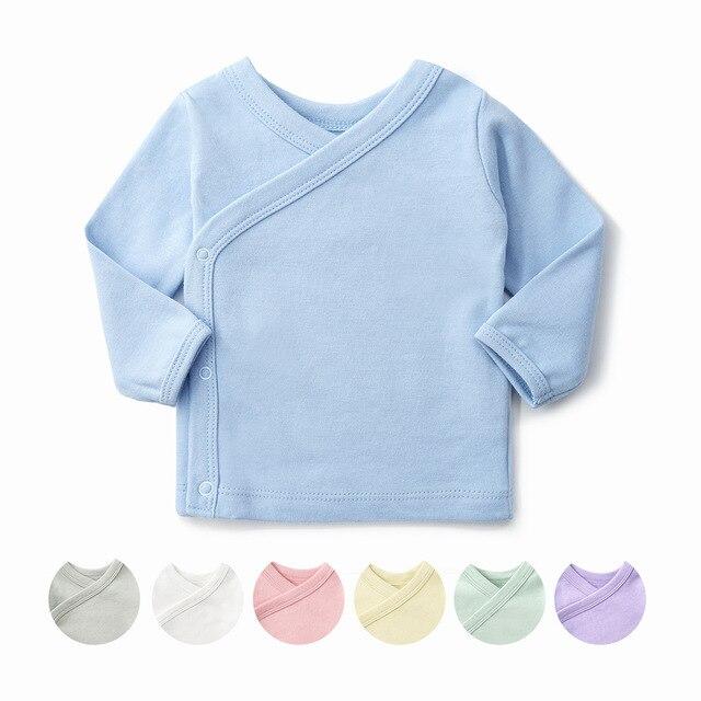 d8805a105d Ropa interior para niños 100% algodón ropa interior recién nacida camisetas  para bebés 0-