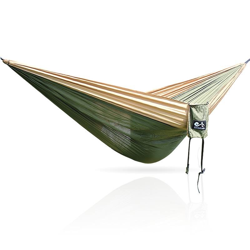 300*200 Cm Parachute Nylon Fabric Garden Hammock Outdoor Travel Camping Swing  Two Persons Sleeping Hang  Bed Hamak