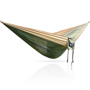 Fabric Parachute Garden Hammock Hamak Travel Camping-Swing Outdoor Two-Persons Bed Nylon