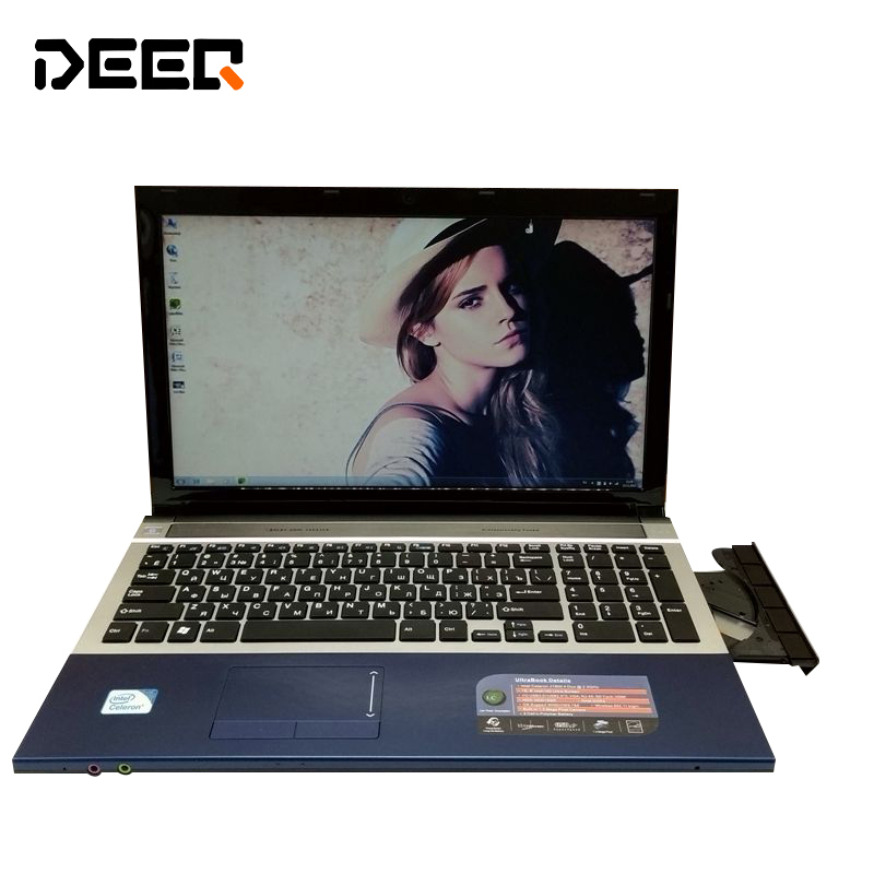 15.6inch 4G RAM 750G HDD Gaming Laptop In-tel I7 Dual Core Fast CPU Windows 7/8.1 Notebook PC Computer with DVD ROM 13 3 inch windows 8 10 laptop 4g 128gb 2 0ghz in tel i7 daul core notebook wifi hdmi ultrabook netbook computer