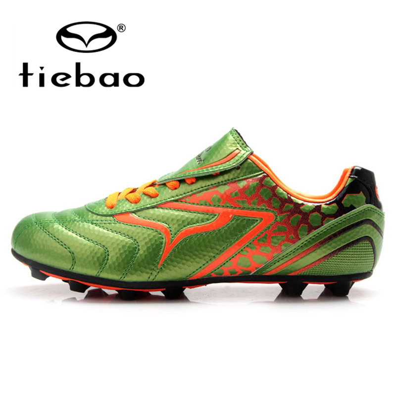 TIEBAO Professional FG & HG & AG Soles Children Kids Football Shoes Children Kids Football Soccer Cleats Boots health top soccer shoes kids football boots cleats futsal shoes adult child crushed breathable sport football shoes plus 36 45
