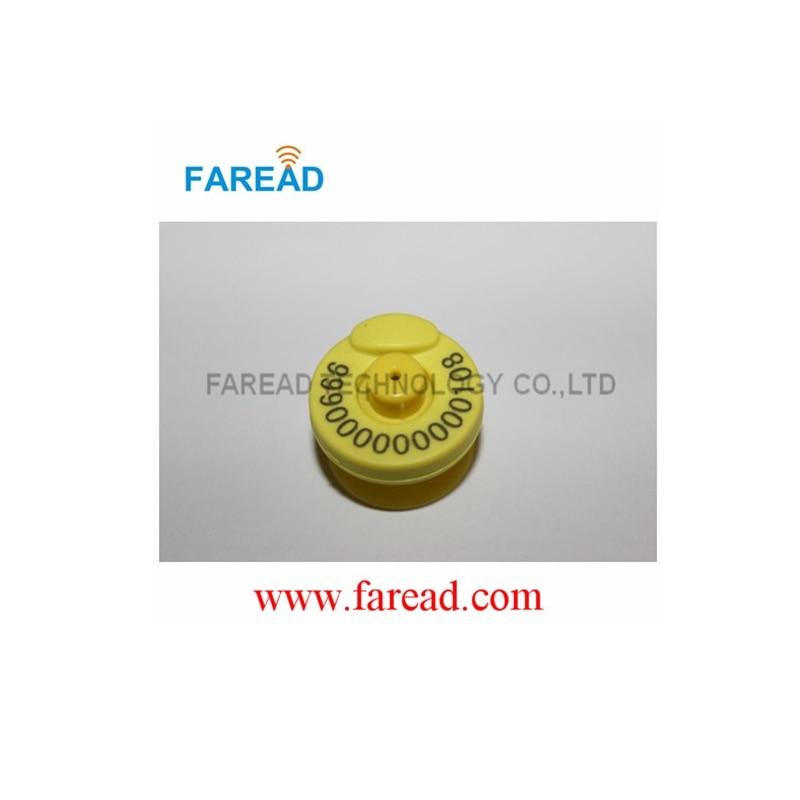 x10pcs  RFID ear tag,ISO 11784/5 HDX electronic Ear Mark for pig, cow sheep etc. x10pcs rfid ear tag iso 11784 5 hdx electronic ear mark for pig cow sheep etc