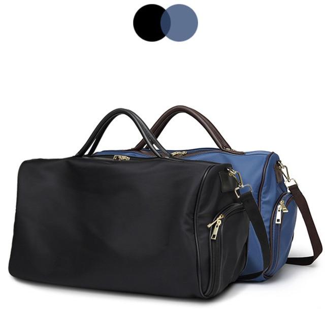 Travel Bags Waterproof Solid Zipper Nylon Bag Women Large Capacity Shoulder  Handbag Casual Crossbody Travel Single 224875b85a