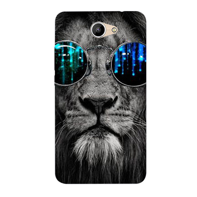 Y7 / Y7 Prime Luxury 3D Relief Phone Case For Huawei Y7 Prime Soft Silicone Tpu Protection Back Cover For Huawei Y7 Prime
