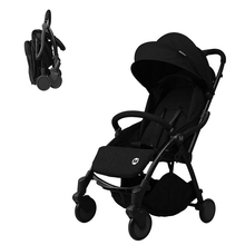 New baby stroller can be laid down, sit on the stroller, high landscape, automatically collect