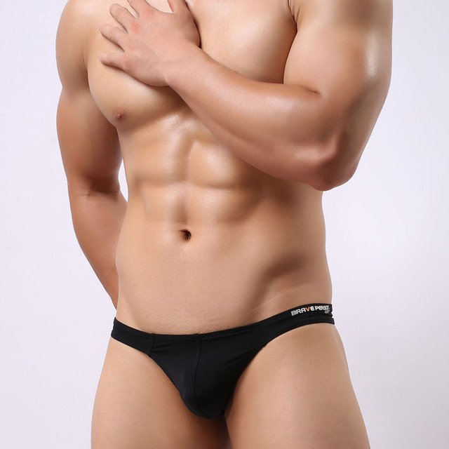 17fb71cd87 8Colors Swimsuit Men High Quality Men s Mini Swim Briefs Bikini Swimwear  Beachwear Underwear Swimwea Brave Person B1129