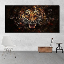 RELIABLI ART Canvas Art Print Postes Tiger Wall Pictures For Living Room Modern Animal Painting Unframed