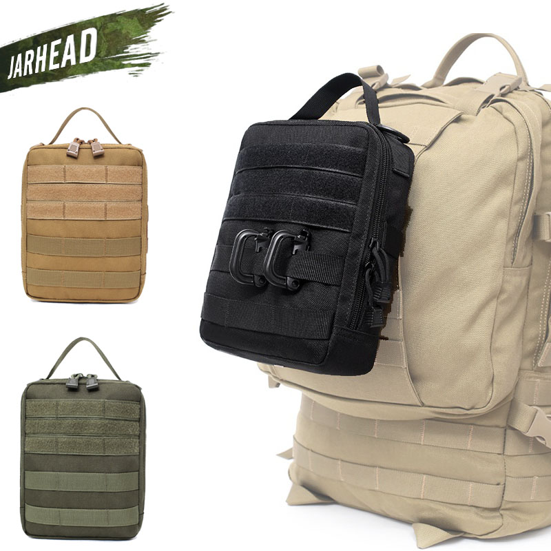 1000D Cover Emergency Outdoor Survival Tactical Medical First Aid Kit Molle Medical EMT Military Pack Hunting Utility Belt Bag