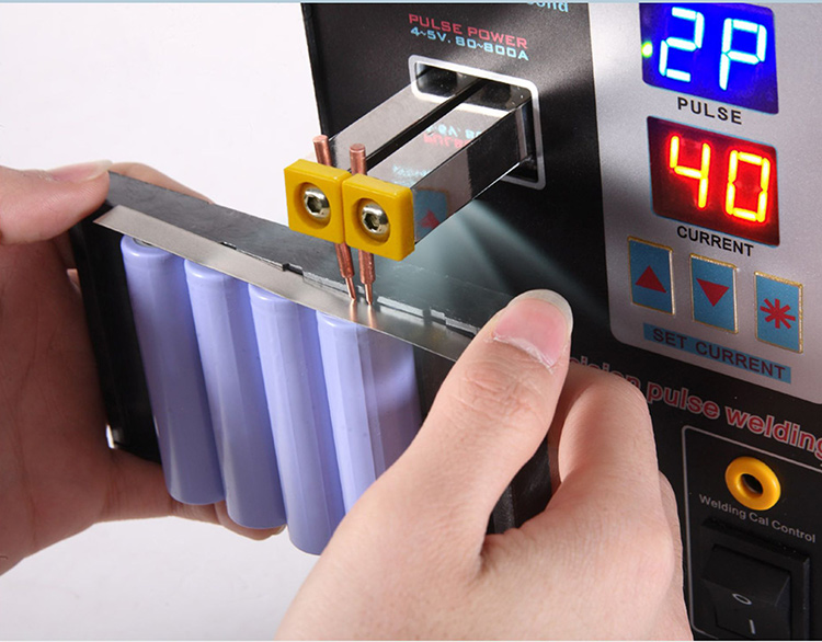1500W SUNKKO 737G Spot Welder LED Solder Welding Machine for 18650 Battery Pack