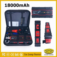 2017 Professional 18000mAh Car Jump Starter Petrol Diesel Starting Device Power Bank 800A Car Charger For