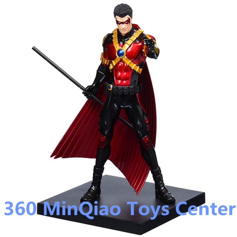 ARTFX + STATUE DC Super hero Red Robin 1/10 Scale Pre-Painted PVC Action Figure Collectible Model Toy Boxed WU1024 artfx statue dc super hero red robin 1 10 scale pre painted figure collectible model toy