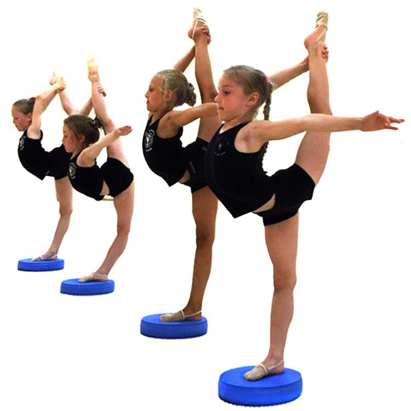 Yoga bricks Yoga Balance Pad dancing slimming Balance Pad Non-slid Yoga Cushion Soft Stability Trainer Physical Rehabilitation