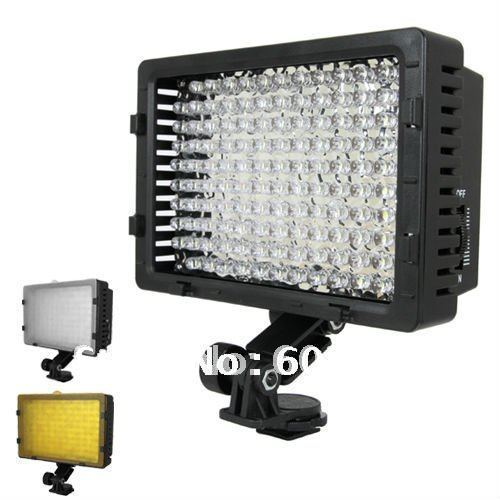 CN 160 160 LED Video Light Camera DV Camcorder Lighting For A7 A7S A7R A7RS D7100