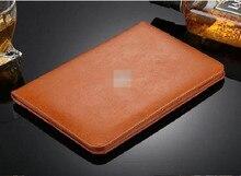 Caso de cuero de lujo para apple ipad 2 cuero de la tableta para ipad 4 caso de la cubierta protectora para ipad 3 magnética con auto de la estela hasta