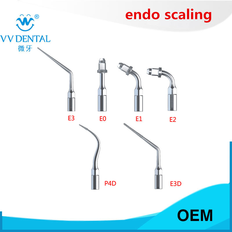 ENDODONTIC KIT EMS woodpecker dental ultrasonic scaler tip kit for EMS WOODPECKER dental instrument 2017 new 2 boxes dental original woodpecker niti endo endodontic u file optional 15  40 used for root canal cleaning