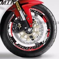 Motorcycle Sticker Thick Edge Outer Circle Sticker Wheel Sticker for HONDA CBR 600RR CBR600RR ALL