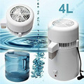 2016 Pure Water Distiller All Stainless Steel Internal 4L Purifier Filter Effective