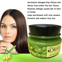 Olive Oil Essece Treatment For Frizzy Dry Unmanageable Hair Damaged Repair Split Ends Hair Mask Treatment