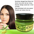 Tratamiento de Aceite de oliva + Essece para Rizado Seco Inmanejable Cabello Tratamiento Para El Cabello Mascarilla Para El Pelo Dañado ends 500g