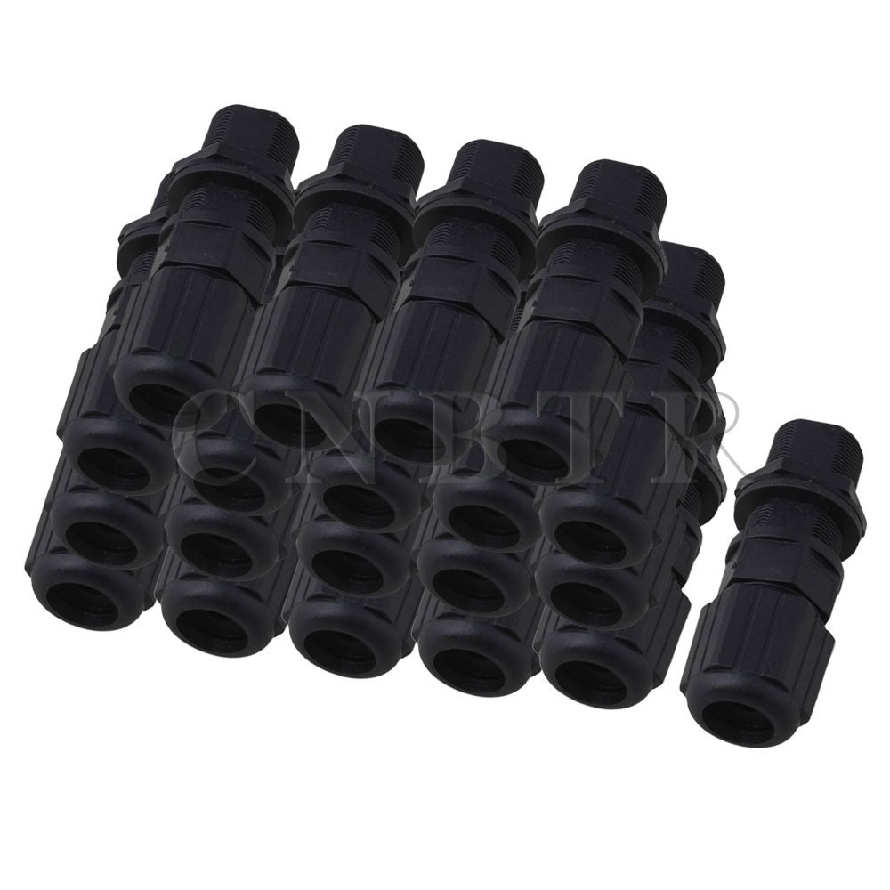 50 x M20 Ethernet LAN RJ-45 RJ45 Nut AP Waterproof Connector DC 0-24V Black 20 x m20 ethernet lan rj 45 rj45 nut ap waterproof connector dc 0 24v black