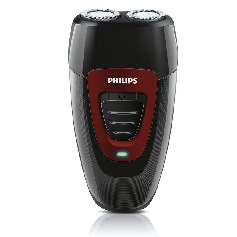 Philips PQ182 Rechargeable Electric Shaver Portable Double Heads Electric Razor Shaver Face Care Men Beard Trimmer Machine kemei men s electric shaver cordless rechargeable reciprocating razor wet and dry use beard trimmer men s face care tool km 2016