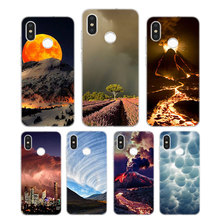 Silicone Case Thunderstorm Printing for Xiaomi Mi 6 8 9 SE A1 5X A2 6X Mix 3 Play F1 Pro Lite Cover