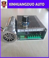 CNC Spindle 300W Air Cooled Spindle Kit,0.3KW Motor Spindle with Power Supply Speed Governor For DIY