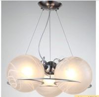 Modern New 3 Glass Shade pendant Light Lighting Fixture Dining room study gift pendant lamps FG860